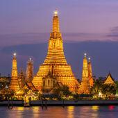 在曼谷,泰国的照明的王庙