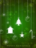 美丽的贺卡或礼品卡为新的一年庆祝德