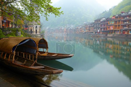 Old Chinise traditional town