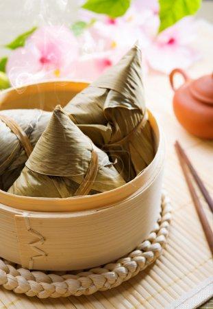 Chinese food rice dumpling