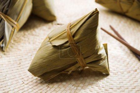 Chinese sticky rice dumpling