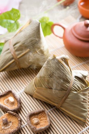 Chinese festive food rice dumpling