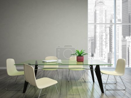 dining room wish tabel and chairs