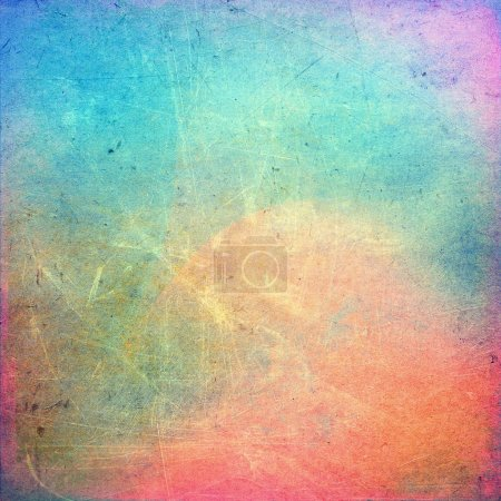 Colorful scratched background