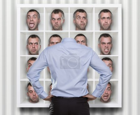 Choosing face expression