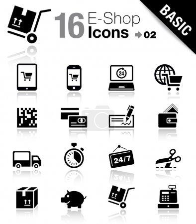 Basic - Shopping icons