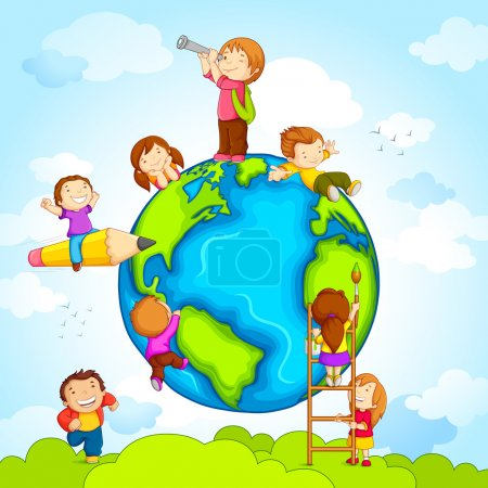 Kids around Globe