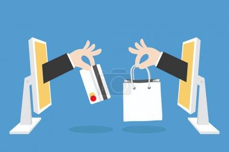 e-commerce concept.