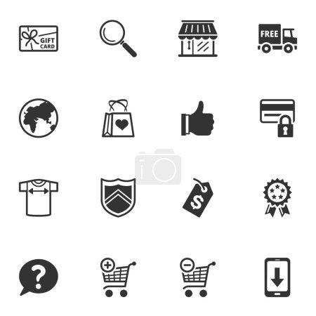 Shopping and E-commerce Icons - Set 2