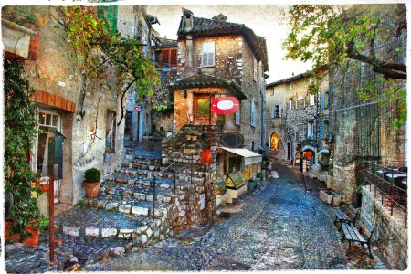 charming villages of France provinces