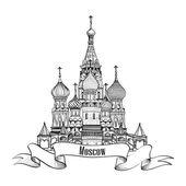 圣巴西尔大教堂,红色 squsre。莫斯科地标性象征