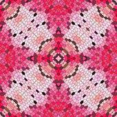 无缝的几何形状马赛克图案
